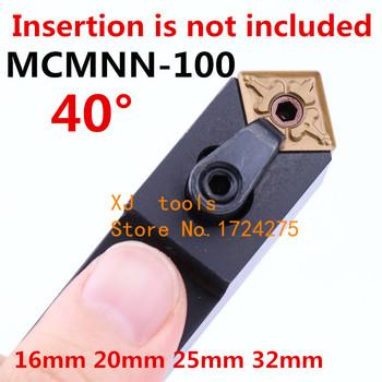 Kąt 40 MCMNN1616H12-100 MCMNN2020K12-100 MCMNN2525M12-100 MCMNN3232P12-100 MCMNN2525M16-100 MCMNN3232P16 CNC toczenie narzędzia tanie i dobre opinie KAVTECNC TOOLS CN (pochodzenie) Narzędzia tokarskie MCMNN-100