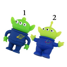 Freeshipping + Drop-Shipping Genuine Three Eye Monster USB Flash Drive Memory Cartoon Toy Story Aliens Stick 2G/4G/8G/16Gb/32Gb