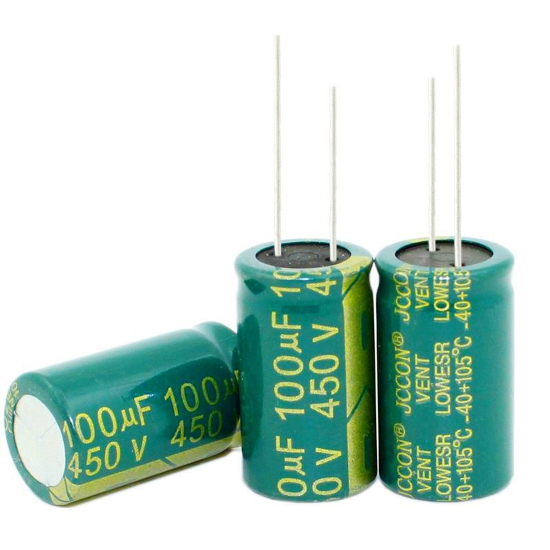 20pcs~100pcs/lot 450V100UF 100UF 450V Electrolytic Capacitor  Volume 18X30  Best Quality New Origina
