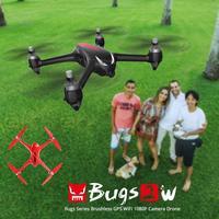 MJX B2W Bugs Mini Drone Con La Macchina Fotografica 1080 P HD 5GPS WIFI RC Quadrupter Brushless RC Quadcopter Elicottero A Distanza Aerei controllo