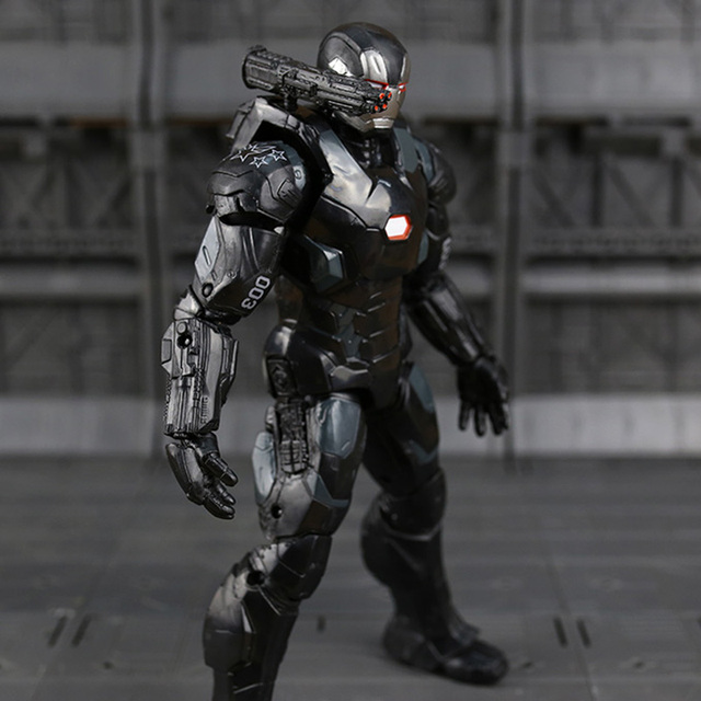 War Machine Action Figure The Avengers Movie Collectible Edition 7inch. 2