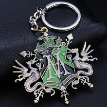 Harry Potter Movie Theme Metal Keychains Movie Key Chains comic figure pendant accessories Key Ring(China (Mainland))