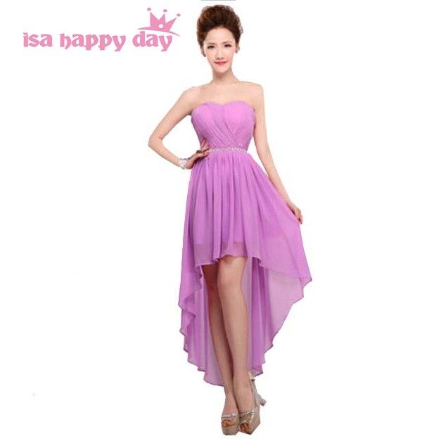 7edd120502 special occasion chiffon dresses 2019 asymmetrical sweetheart elegant short  front long back high low prom dress