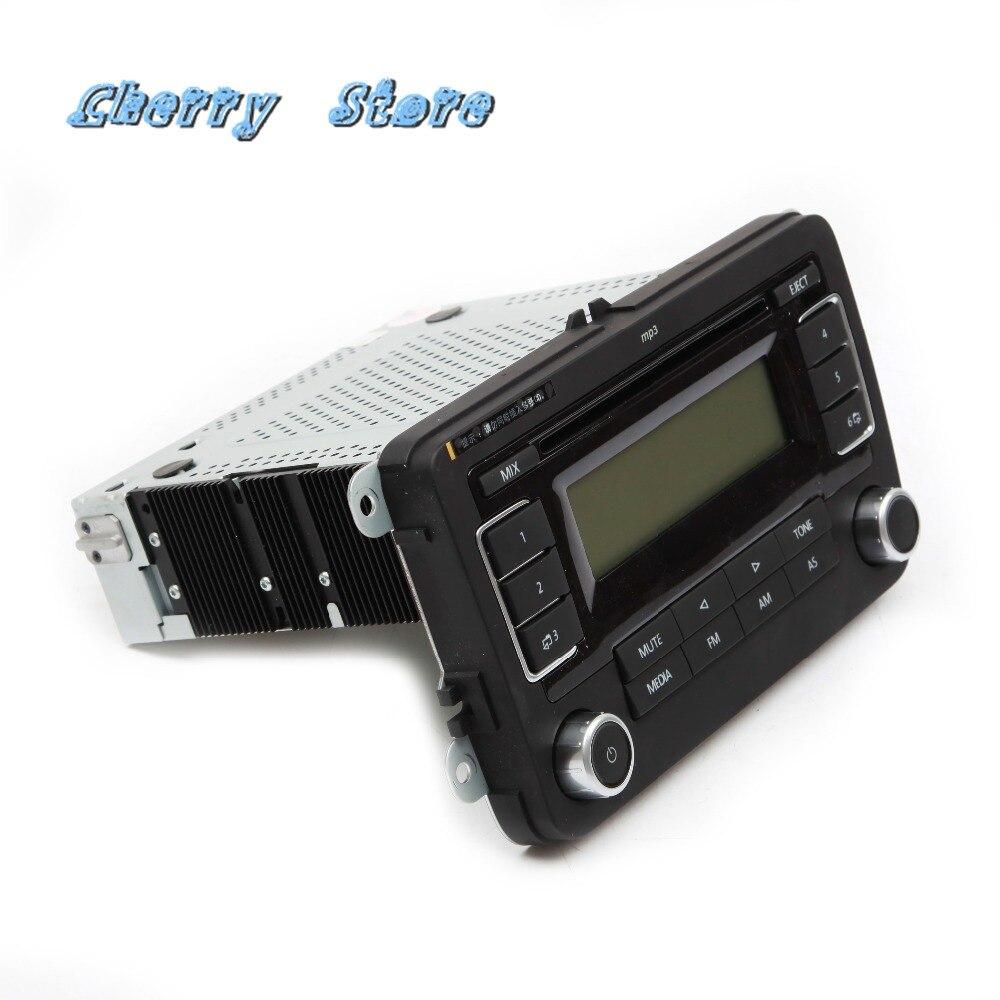 Novo 18g 035 186g rcd 030 + mp3 player rádio do carro usb aux para vw golf mk5 jetta mk5 6 tiguan passat cc polo eos 18g035186g rcd030 - 2