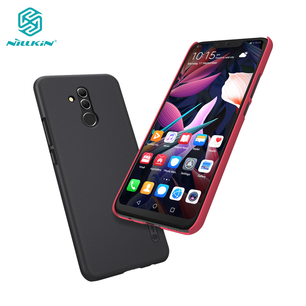 Huawei Mate 20 Lite Case Nillkin Frosted Shield PC Hard Back Cover Case For Huawei Mate 20 Lite 6.3 inchHuawei Mate 20 Lite Case Nillkin Frosted Shield PC Hard Back Cover Case For Huawei Mate 20 Lite 6.3 inch