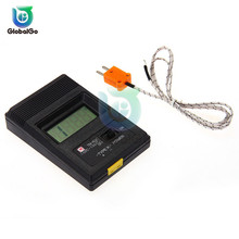 цена на TM-902C -50℃ to 1300℃ Temperature Meter TM902C Digital K Type Thermometer Sensor Detector Tester Thermocouple Probe