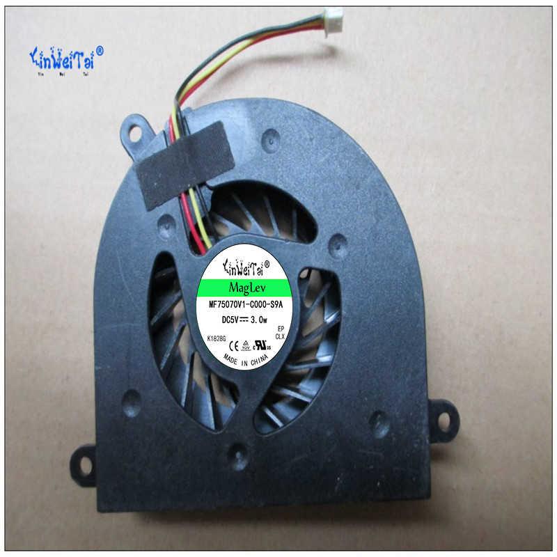 CPU Laptop Refrigerador Ventilador de refrigeração para Lenovo IdeaPad Y550 Y550P Y550A GB0507PHV1-A 13. v1.B3833. f. GN 5V 1.15W AB7005HX-LD3 KIWB1