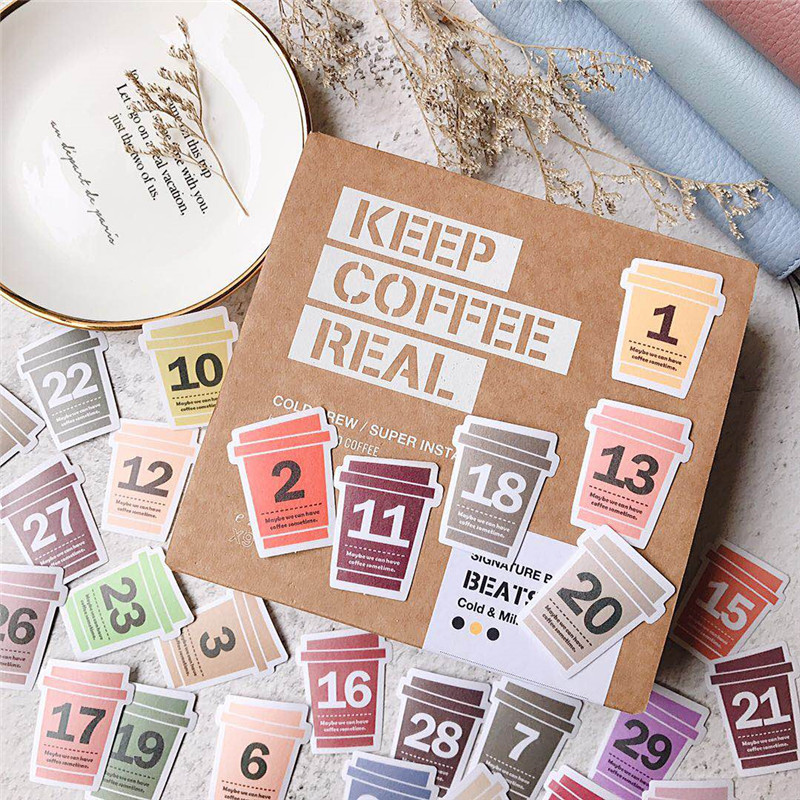 Hello Every Day Series Bullet Journal Decorative Stickers Scrapbooking Stick Label Diary Stationery Album Kawaii Custom Stickers