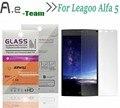 Aierwill Протектор Экрана Для Leagoo Alfa 5 HD Ясно Защитную Пленку 9 H + 2.5D Против Взрывов Для Leagoo Alfa 5 Закаленное Стекло