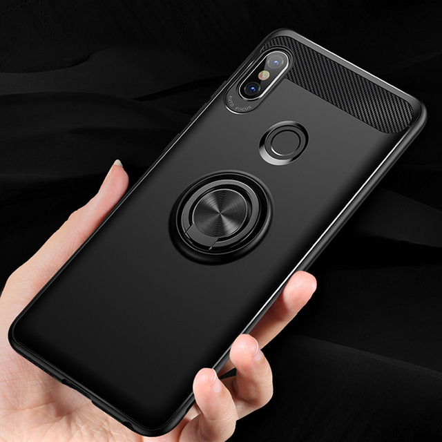 the best attitude 9cad1 21bc1 US $2.84 14% OFF|ProElite Magnetic Car Holder Soft Case for Xiaomi Redmi  Note 5 Pro Finger Ring Stand Cases Phone Cover for Xiaomi Redmi Note 5-in  ...