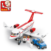 Sluban 275Pcs Concept Plane 3D Jigsaw Education Assembling Airplane Building Blocks Bricks action figure lepin Compatible недорго, оригинальная цена