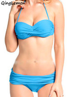 Newest Summer Sexy Bikini Women Swimwear Fashion Occidental Secret Beach Swimsuit 9 Colors S M L