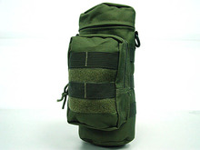 Military Molle Zipper Tactical Water Bottle Pouch Utility Medic Pouch Kettle Package Hunting Outdoor Canteen Travel Bag