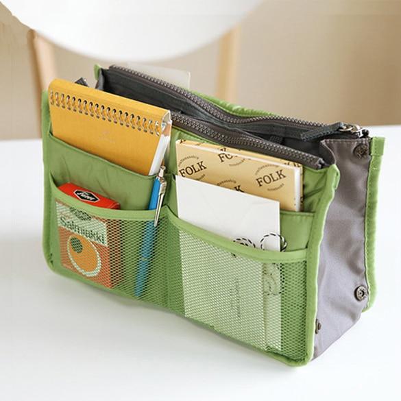 Insert Handbag Organiser Purse Large liner Organizer Bag Amazing Women Travel Makeup Bag For Makeup Tool Kits H7JP