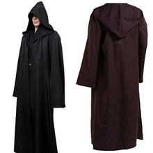 New Halloween Adult Death Cosplay Costumes Black Hooded Cloak Scary Witch Devil Role Play Long