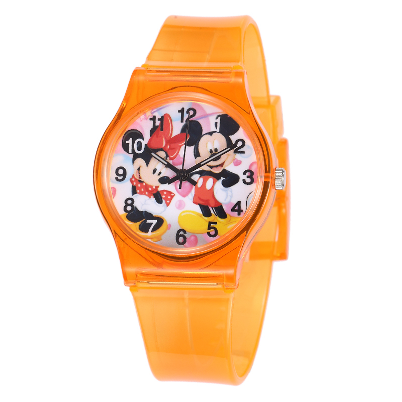 2019 Mouse Sports Watches Women Ladies Kids  Cartoon Watch With Silicone 50M Water Resistant Fashion Clock Relojes