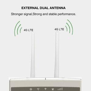 Image 2 - 4G LTE Wifi נתב CPE מהדר מודם נייד נקודה חמה אלחוטי בפס רחב עם ה SIM Solt Wi fi נתב תמיכת 32 wifi משתמשים