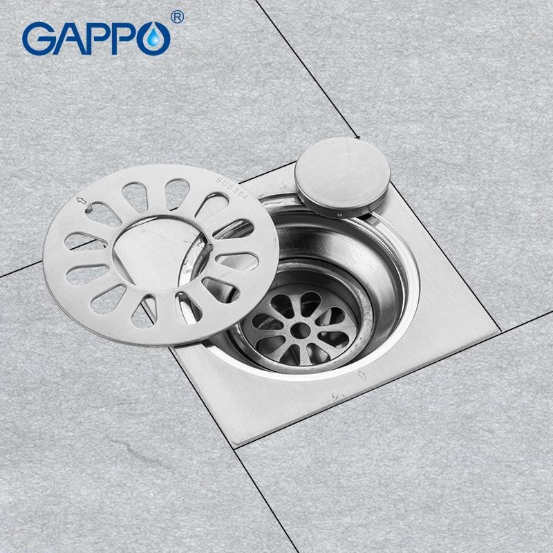 Gappo Drains Stainless Steel Shower Room Drain Strainer Floor Water Anti Odor Floor Drain Bathroom Drain Strainer Drains Aliexpress