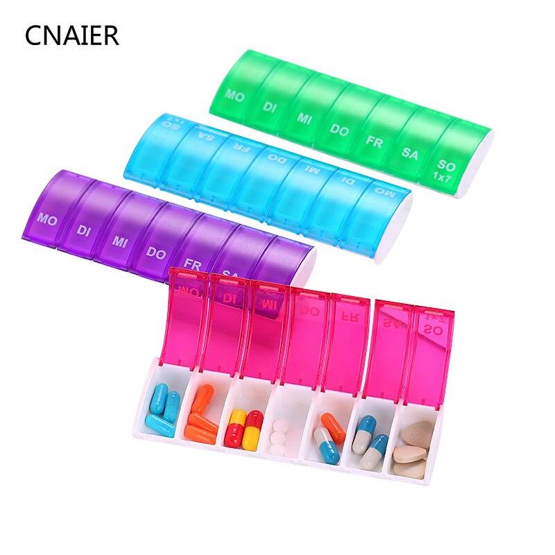 Pílula Cases e Divisores 4 cores divisores para saudável Tipo de Item : Caixas & Divisores do Comprimido