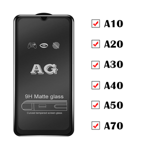 Image 2 - Matte Frosted Protective Glass On The for Samsung A70 Galaxy A50 Tempered Flim A10 A20 A30 A40 Samsong Galexy A 10 40 30 50 70