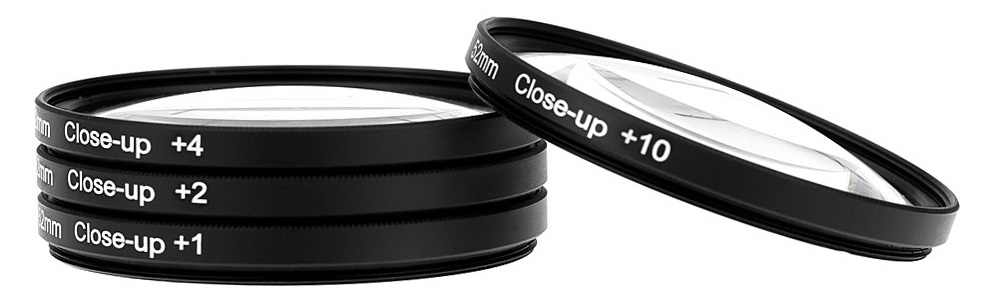 Mettzchrom Makro Kit Filter Close-Up Filter Set + 1 + 2 + 4 + 10 39Mm 49mm 52Mm 55Mm 58Mm 62mm67mm Close Up Makro Filter Kit