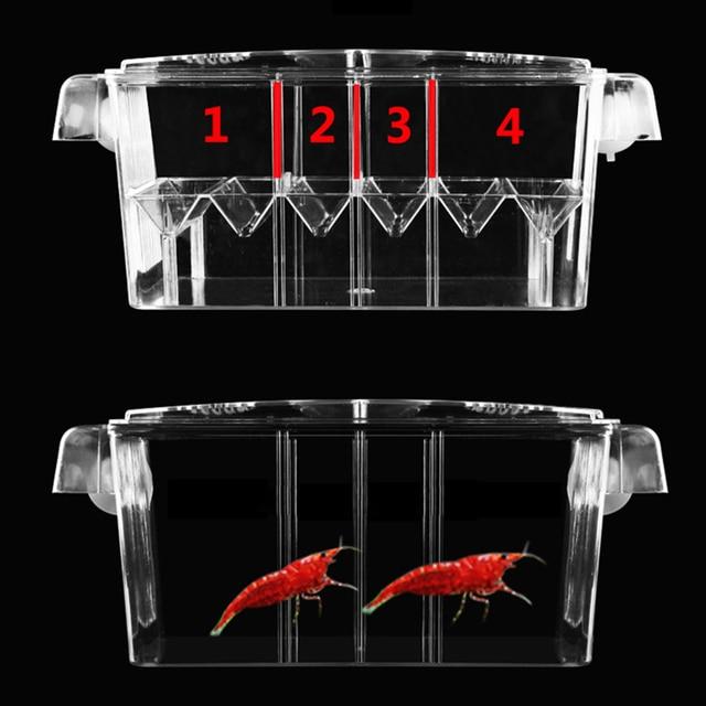 Fish Hatchery Aquarium Breeding Incubator - Multi-Function Double Layer Fish Tank 3