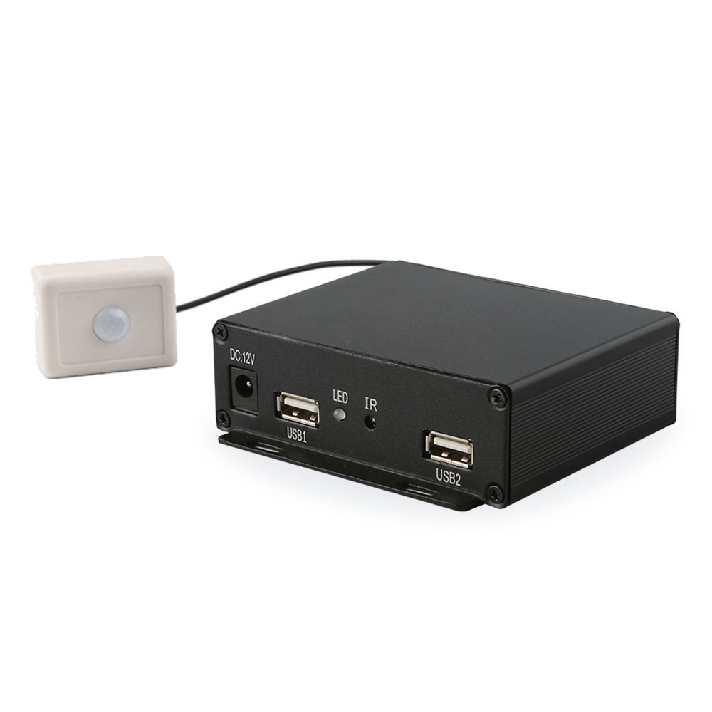 Motion sensor digital signage box advertising player