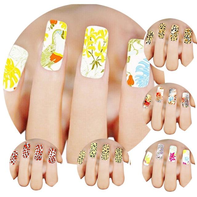 2016 Nieuwe Mode Vrouw 3d Design Nail Art Stickers Tips Om Decoratie