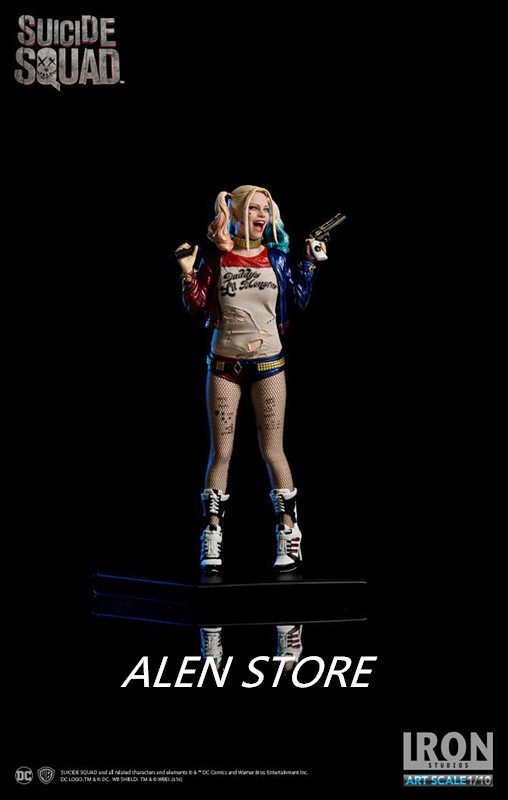 ALEN Suicide Squad Harley Quinn PVC Action Figure Collection Model Toy Christmas Gift new hot christmas gift 21inch 52cm bearbrick be rbrick fashion toy pvc action figure collectible model toy decoration