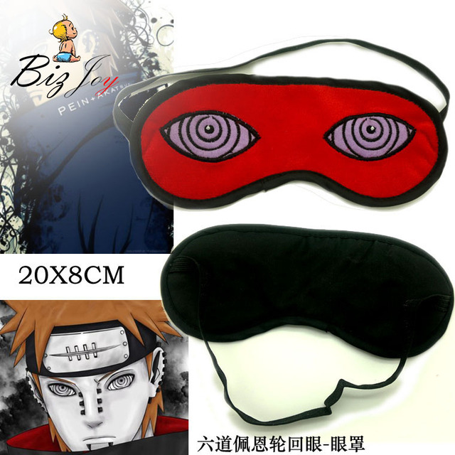 action figure naruto kakashi eyepatch masker mata tidur topeng