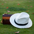 Classic Michael Style White Women Hat Summer Sun Visor For Men Black Band Decoration Hard Box Packed 2016 Fashions 2016042212 u5