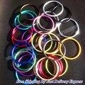 O Envio gratuito de 3 polegadas 100 pcs/50 pairs Top Quality moda ajustável de alumínio bebê anel estilingue