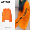 INS hot EXTRA long sleeved Tshirts Heybig swag Vetements clothing Summer 2016 thin Pullover Street Fashion Tops Asian Sizing