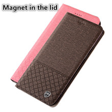 YM03 PU Leather Phone Case With Magnet In The Lid F