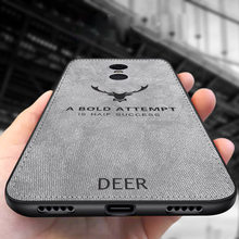 for XiaoMi Redmi 4X 4A 5A 6A 5 Plus 6 6Pro case silicone edge deer pattern fabric case Redmi Note 7 4 4X 5a 5 6 Pro phone cover(China)