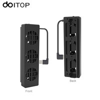 DOITOP For NS Switch Cooling Fan Dock Stand Base Three Fans Heatsink Portable Cooling Fan Cooler