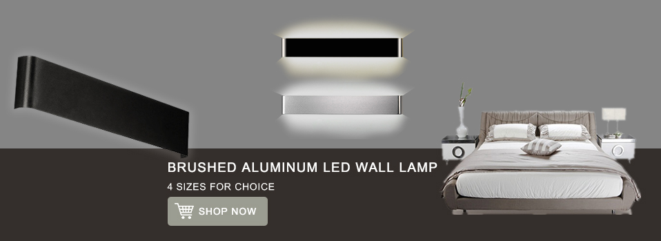 Feimefeiyou Mini 3/6/12W Led Acrylic Wall Lamp AC85-265V Long warm white Bedding Room Living Room Indoor wall lamp