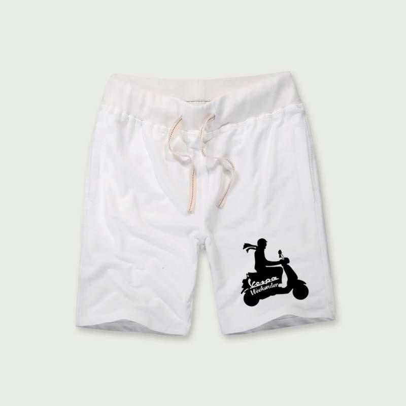 Vespa weekender Shorts For Boys Printing Set Plus Short Pants Beach Cargo Fitness Harajuku Trouser Hip Hop White Slim Jersey