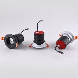 Image 5 - SCON LED 7W 12W foco empotrado techo COB Ra>93 lámpara de lavado de pared del Hotel 24 grados comercial interior Downlight 4000k