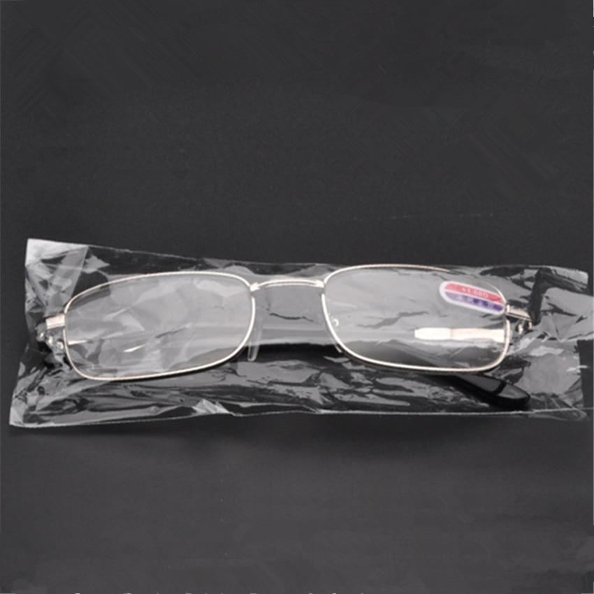 popular eyeglasses frames agqr  New Popular Men Alloy Frames Reading Glasses Computer Glasses Classic  Silver Presbyopic+100 +150