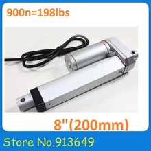200mm  linear actuator -12V 8inch-900n-90kgs-10mm/s -micro linear actuator – 1PC