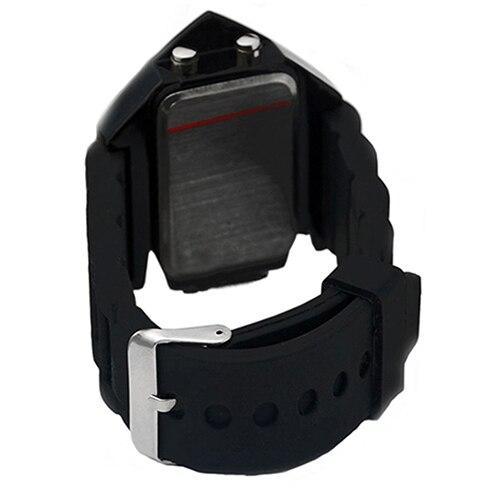 Fashion Top Brand Luxury Cool Men's Oversized Design Light Digital Sports Plan Shaped Dial Wrist Watch 9