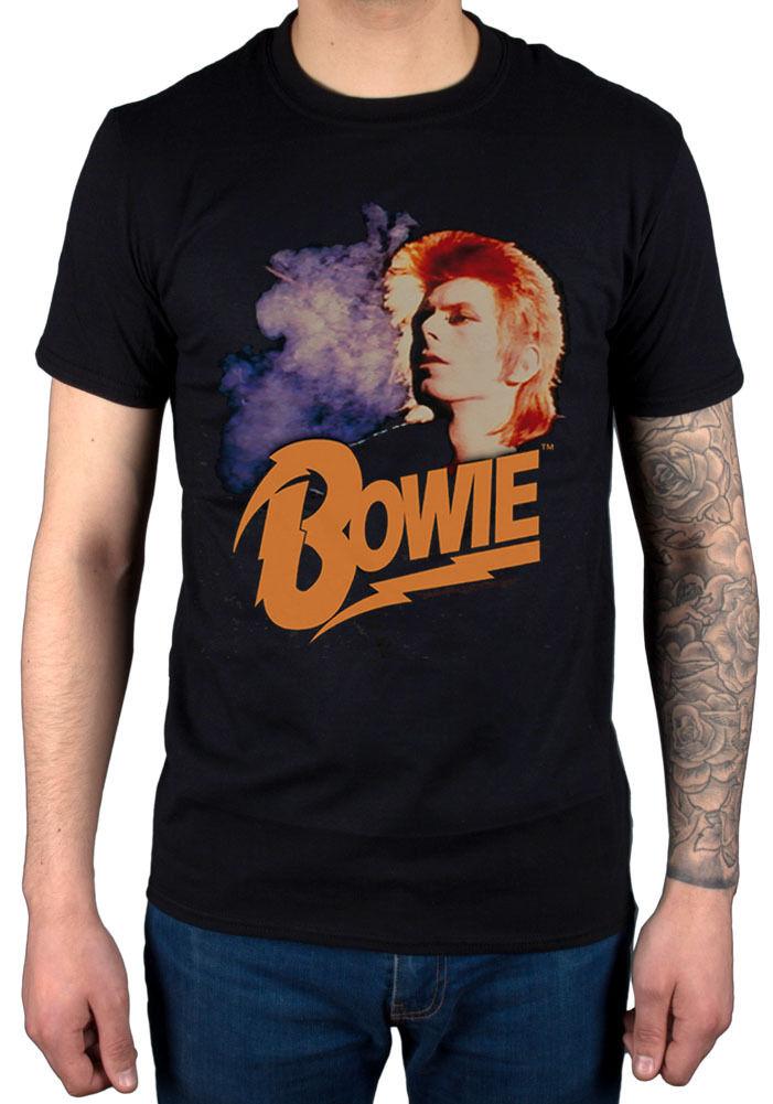 David Bowie Retro Bowie 2 NEW T-Shirt R.I.P Legend Jagger John Lennon