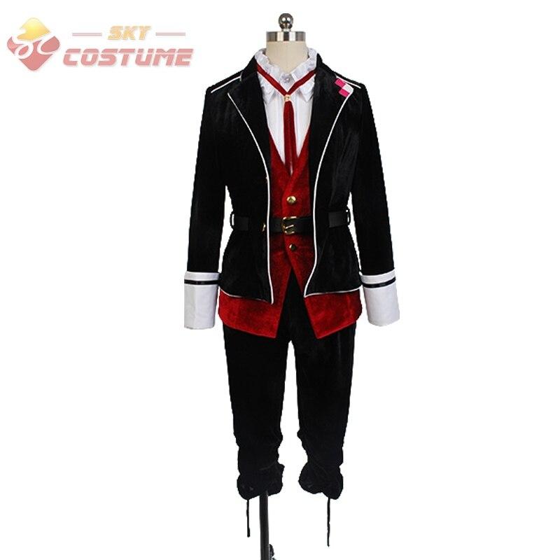 Anime DIABOLIK LOVERS Sakamaki Kanato  Full Set Cosplay Costume New Arrival