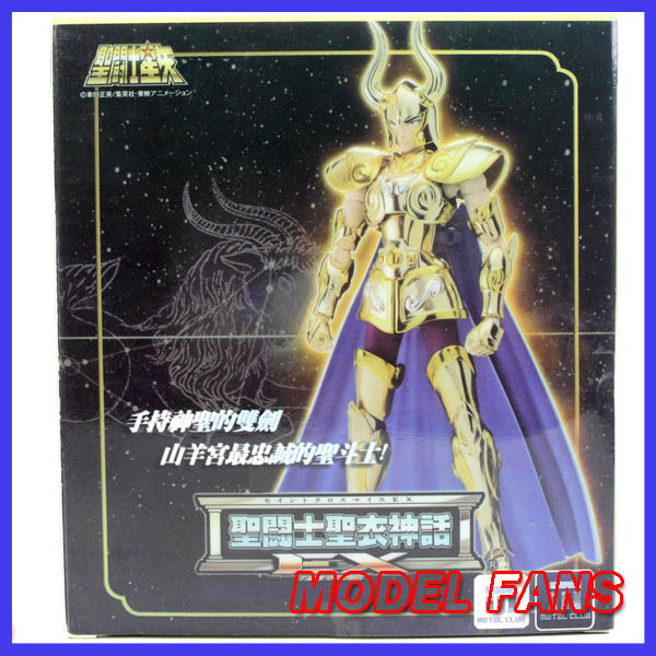 ФОТО MODEL FANS IN-STOCK Metal club metalclub MC Capricorn Shura  Model Saint Seiya metal armor Cloth Myth Gold Ex2.0 action Figure
