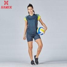 Профессиональные майки для волейбола, женский спортивный костюм, спортивные формы для бега, Быстросохнущий Тренировочный Набор для волейбола, футболка, униформа