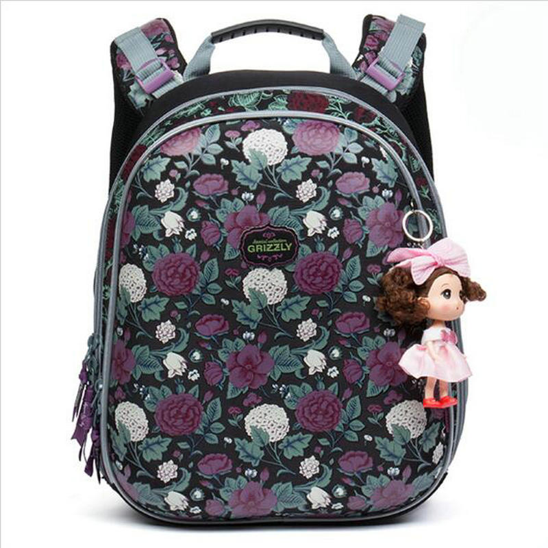 2017 NEW arrived Orthopedic backpack Children School Bags For Girls and boys High quality 3D printing Book Bag Mochila Escolar delune new european children school bag for girls boys backpack cartoon mochila infantil large capacity orthopedic schoolbag