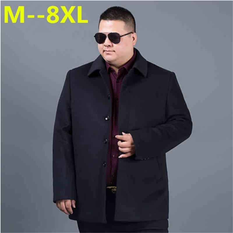 7c339e6aed Worldwide delivery winter wool coat men black in NaBaRa Online