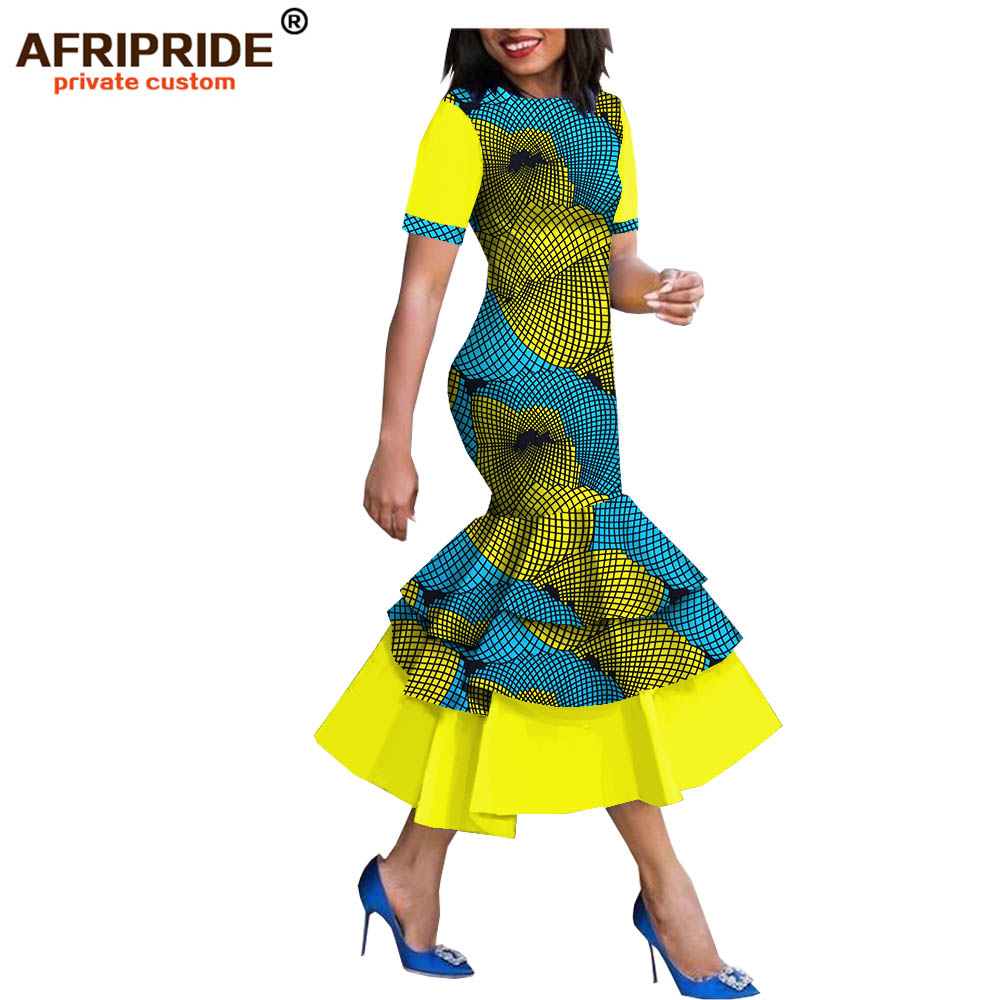 2019 springautumn african style dress for women afripride