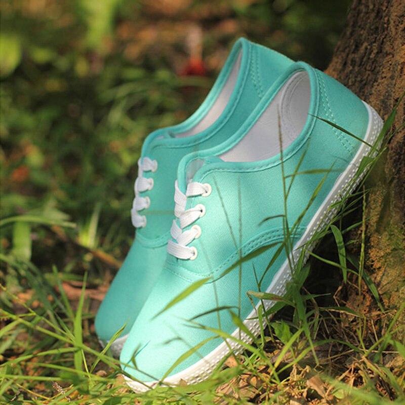light Más Green Amantes Planos Zapatos Full Hombres Los Tamaño Blue Ocasionales Del Black verde Unisex Mujer Lona Pisos rose rojo blanco Cordón azul 13 Color De negro gris Red amarillo light wR4vxt